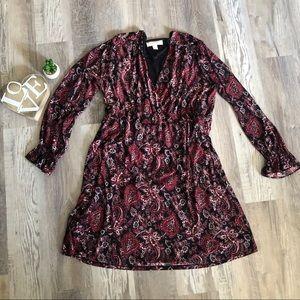 Michael Kors 🖤 Black and red dress XL